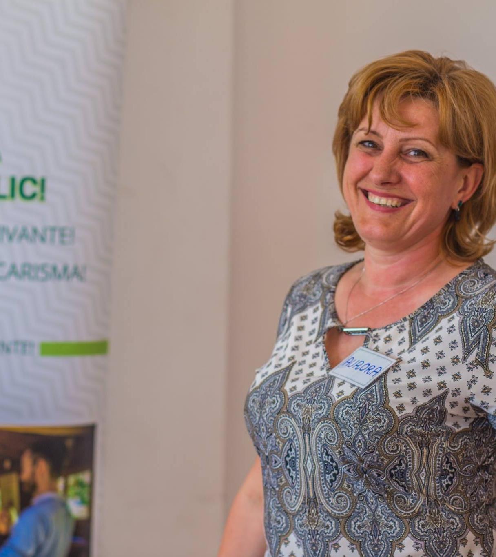 Aurora Moldovan - Consilier de dezvoltare personală.