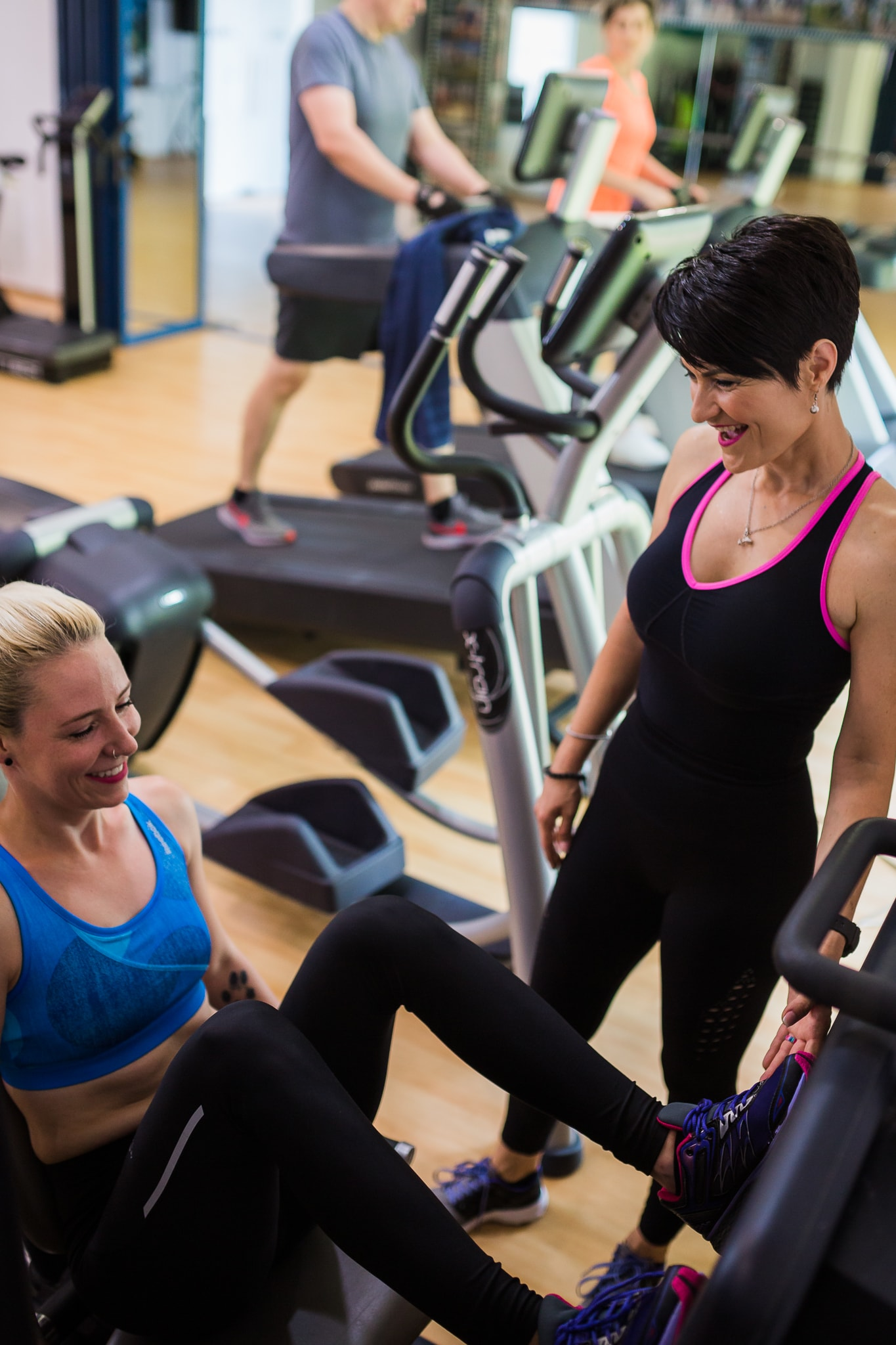 Antrenament fitness pentru femei